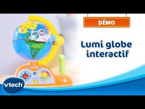 Lumi globe interactif - A la découverte du monde | VTech