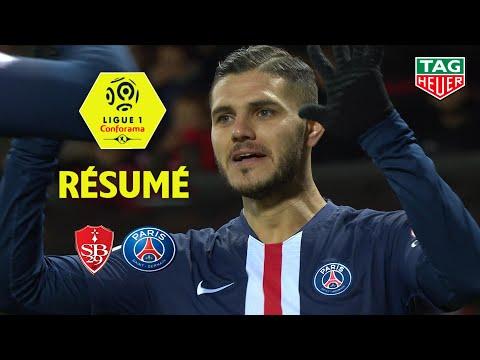 Stade Brestois 29 - Paris Saint-Germain ( 1-2 ) - Résumé - (BREST - PARIS) / 2019-20