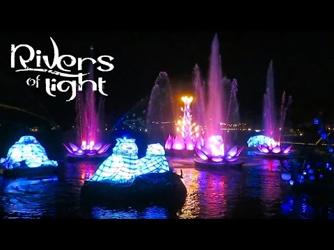 Rivers of Light Opening Night Full Show at Disney's Animal Kingdom! | BrandonBlogs