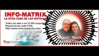 INFOMATRIX 28-01-2014 con Nuria Casas y Miguel Celades Rex