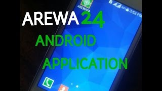 AREWA24 App install process