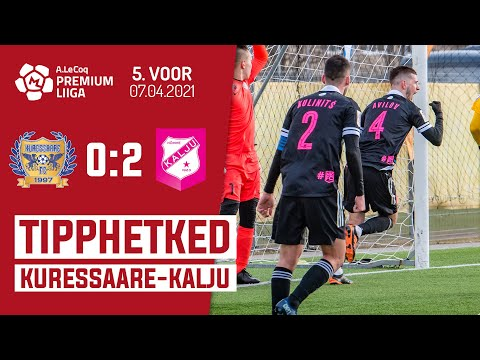 Kuressaare FC Nomme Kalju Goals And Highlights