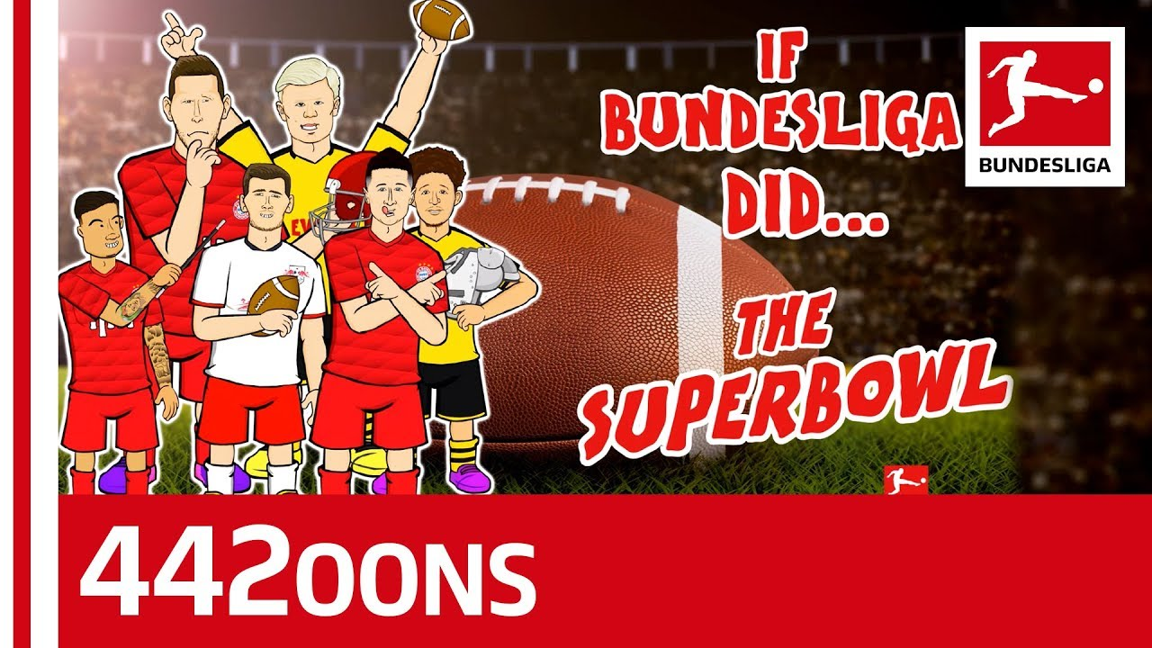 Bundesliga Stars at the Super Bowl Halftime Show - Powered By 442oons