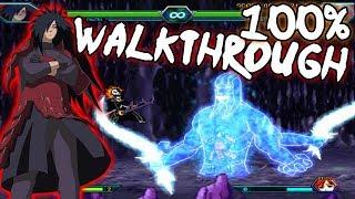 Bleach Vs Naruto 3.2 - Madara Uchiha 100% Walkthrough