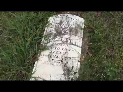 Haunted Graveyard on Demon Road - Go Explore Texas