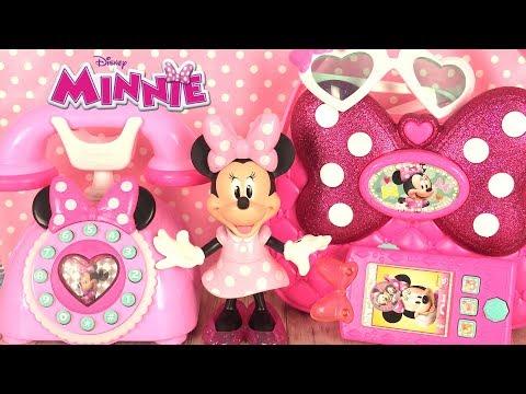 Minnie Mouse Téléphone et Sac de Voyage Sachets Surprises