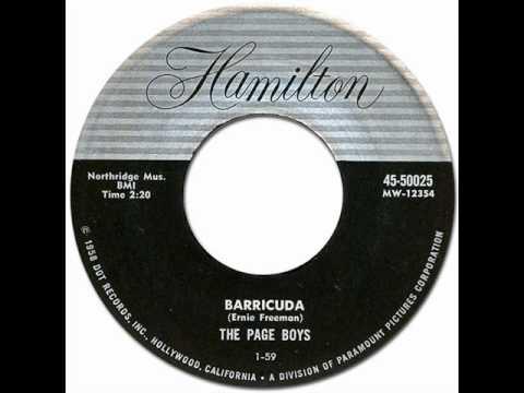 THE PAGE BOYS - Barricuda [Hamilton #50025] 1960