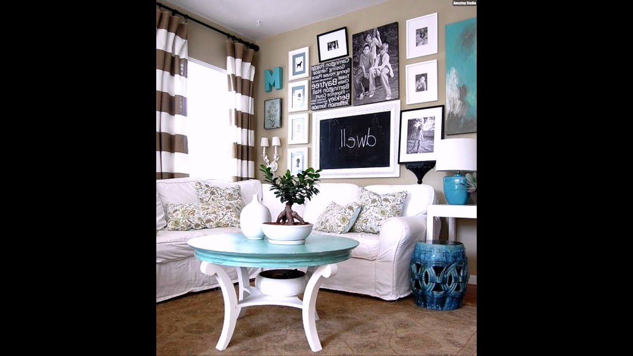 fotowand gestalten wohnzimmer youtube. Black Bedroom Furniture Sets. Home Design Ideas