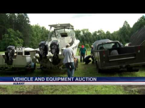 State vehicles and equipment up for auction