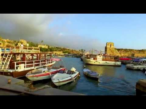 A walking tour of the beautiful city of Byblos, Lebanon