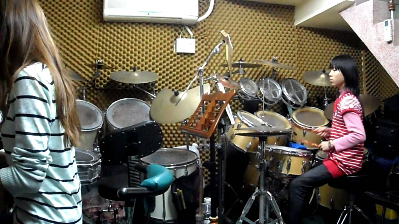 賴怡蓁 - Besame Mucho (Drum practice) - YouTube