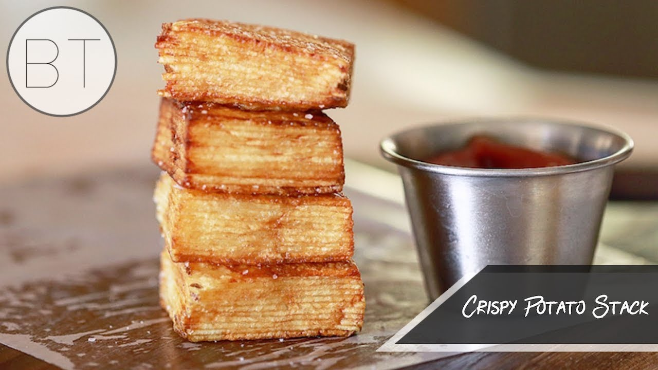 the crispy potato stack youtube