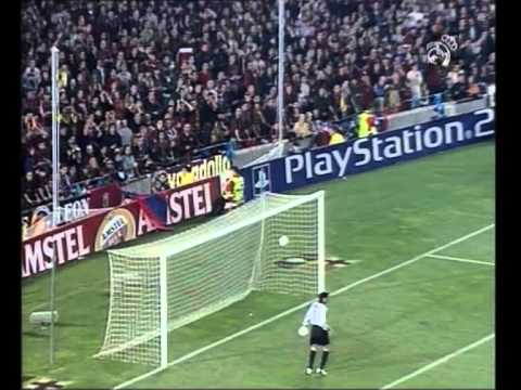 Barcelona 0 2 Real Madrid 2001 02 Uefa Champions League Semifinals Youtube