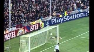 Barcelona 0-2 Real Madrid | 2001/02 UEFA Champions League Semifinals