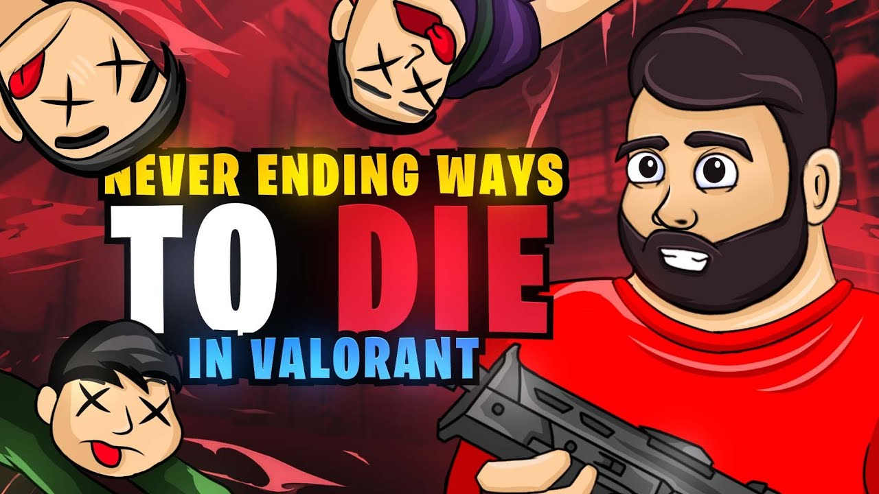 Never Ending Ways To Die in Valorant 😝   8Bit Goldy