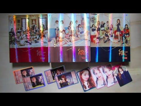[Unboxing] Twice | Signal 4th Mini Album (All Versions)