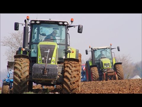 CLAAS SEEDING in France | LEMKEN | Axion & Ares | Keymolen Agri