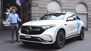 2020 Mercedes EQC 400 AMG REVIEW First | ALL Electric SUV Interior Exterior