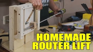 Building A Router Lift - 141