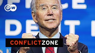 Barring unforeseen events, joe biden will be sworn in as the 46th us president next month. but with his party deeply divided, are democrats really celebr...