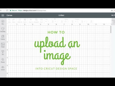 How To Upload An Image Into Cricut Design Space