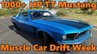 forza horizon 3   muscle car drift week   69 mustang twin turbo 1 000 hp