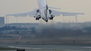 Boeing 727-200 - IMPRESSIVE SHORT FIELD TAKE-OFF - YYZ only 2000ft - Apr 13 2014