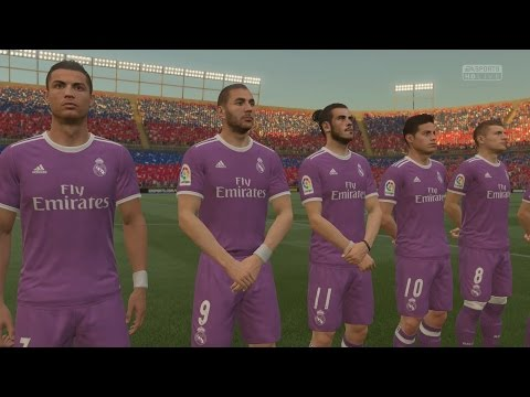 FIFA 17 FROSTBITE ENGINE FULL VERSION GAMEPLAY | HD EL CLASSICO  REAL MADRID VS BARCELONA