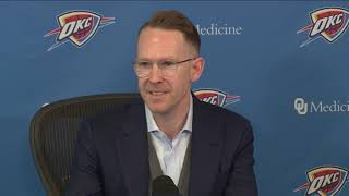 Thunder: Sam Presti End of Season Interview