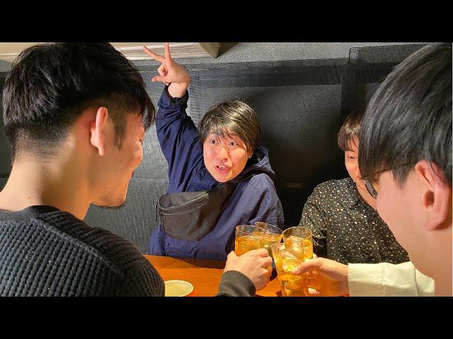 丸山礼コント「大学の石サークルの新入生歓迎会で独特な乾杯を要求する女子大生 早川さおり」