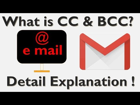 CC and BCC detail explanation with practical