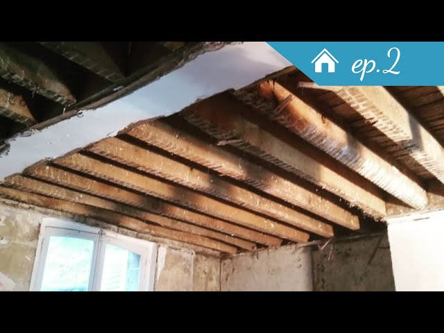 On casse le plafond en bacula ! - Rénovation Ep2