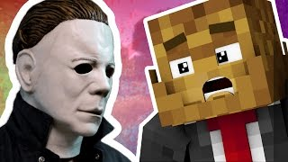 SAVE ME FROM EVIL MICHAEL MYERS | Minecraft - Mod Battle (MIKE MYERS)