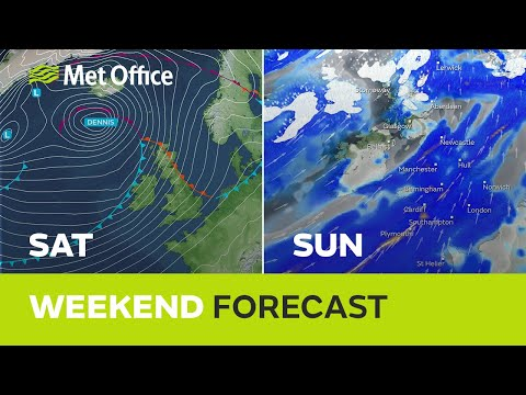 Weekend weather – Storm Dennis arrives making flooding likely 13/02/20