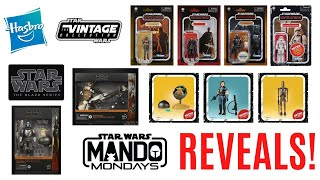 Hasbro Reveals NEW Vintage Collection, Black Series and Mandalorian Retro Collection on Mando Monday