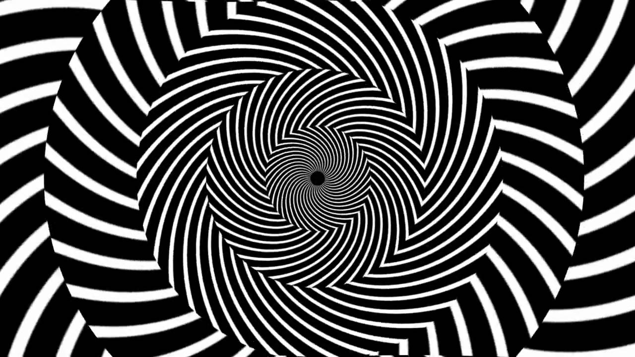 Hypnosis Spiral 45 Drawing Videos Op Art Hypnosis Striped Art
