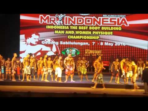 Mr Indonesia Man Sport Physique