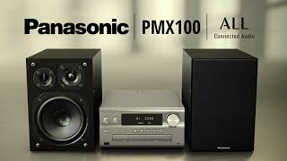 Panasonic SC-PMX100 Hi-Fi CD Micro System | AllPlay Series