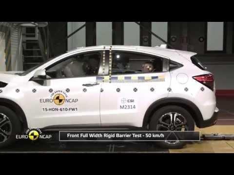 Euro NCAP Crash Test of Honda HR-V 2015