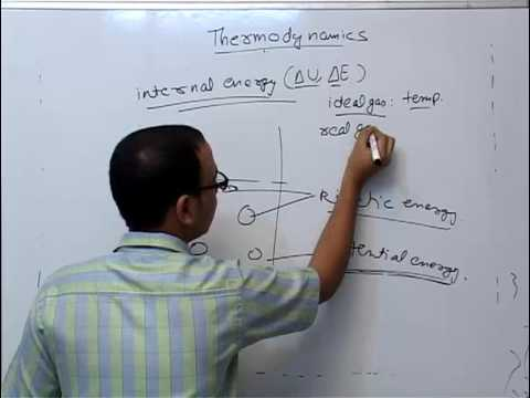 Internal energy - Thermochemistry part 3 | Chemistry Engineering Entrance Preparation