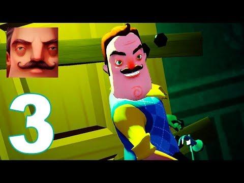 Hello Neighbor - Act 3 Gameplay Walkthrough Guide Part 3 (IOS | ANDROID)