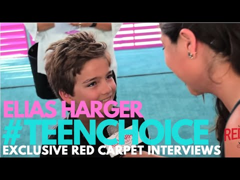 Elias Harger #FullerHouse interviewed at the 2016 Teen Choice Awards Teal Carpet #TeenChoice