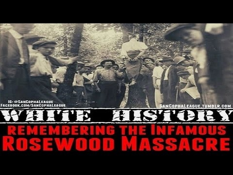 The True Story Of The Rosewood Massacre Where Whites Destroyed Blacks Over A White Womans Lie!
