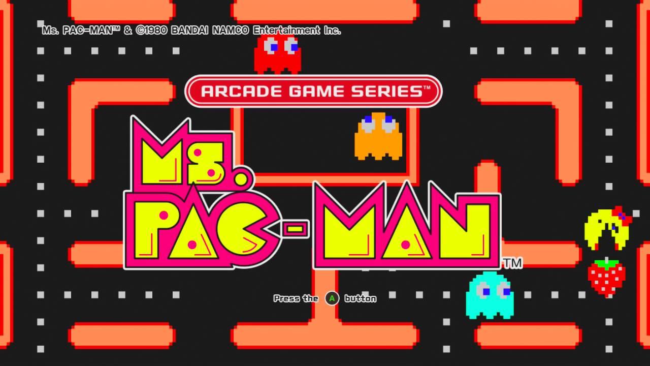Ms Pacman | Free Retro Arcade Games | 1981 Bally/Miday ...