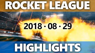 Rocket League Highlights 2018 08 29
