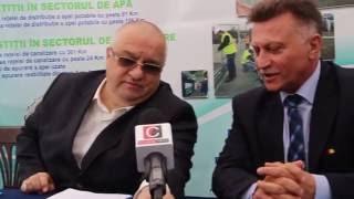 Felix Stroe, director general SC RAJA SA, despre stația epurare din Medgidia