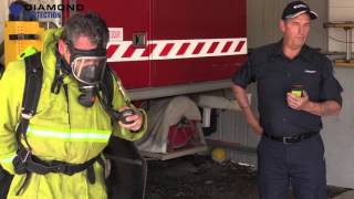 SCBA - Breathing Apparatus Time Trial Test