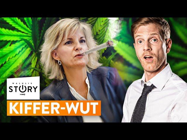Neuer Regierungs-Wahnsinn im Cannabis-Kampf   WALULIS STORY SWR3