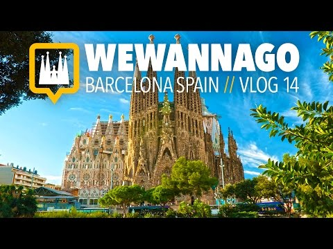 A tour of Sagrada Familia in Barcelona Spain // Round the World Travel // WeWannaGo TV