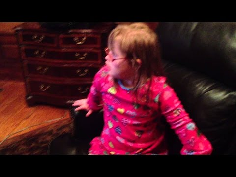Sarah Grace Lip Syncing to MattyB's Version of   Want U Back